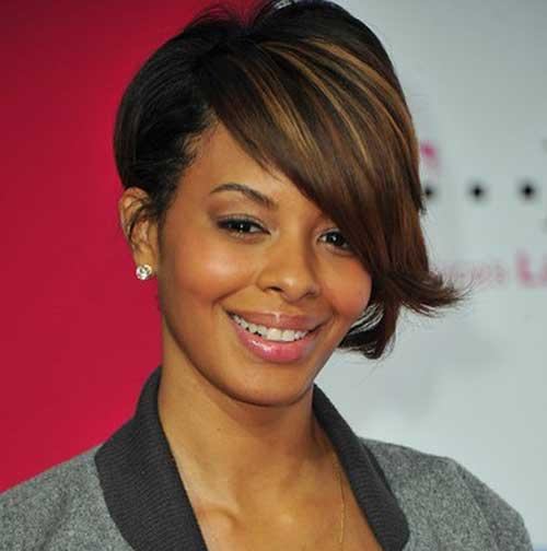 Cortes de pelo corto para mujeres afro